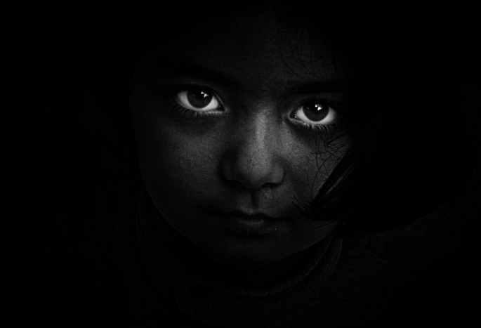 eyes portrait person girl